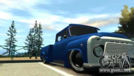 GAZ 53 para GTA 4 interior