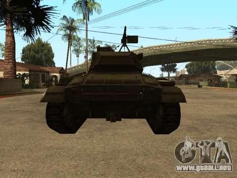 M24-Chaffee para la visión correcta GTA San Andreas