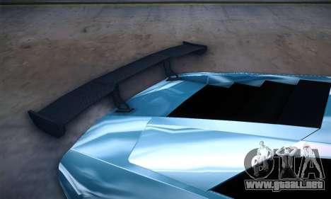 Lamborghini Murcielago GT Coloured para la vista superior GTA San Andreas