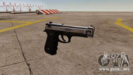 Carga automática pistola Beretta M92 para GTA 4
