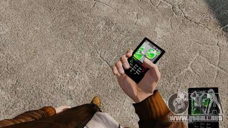 Tema para el teléfono Sony Ericsson para GTA 4
