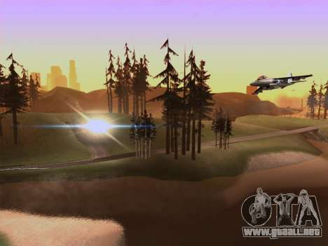 SA_RaptorX v2.0 para PC débil para GTA San Andreas sucesivamente de pantalla