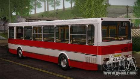 LIAZ piel 5256.00 3-Pack para GTA San Andreas vista hacia atrás
