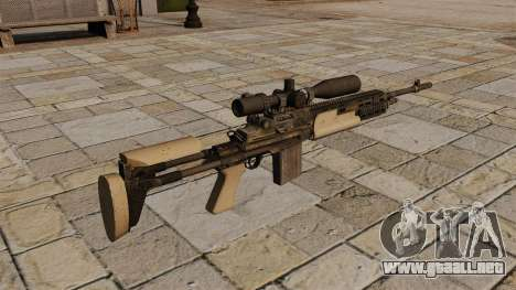 Rifle de francotirador M14 para GTA 4 segundos de pantalla