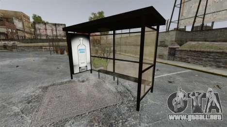 Nueva publicidad en paradas de autobús para GTA 4 tercera pantalla