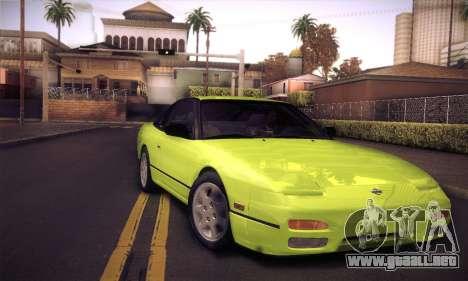Nissan 240SX 1991 Tunnable para GTA San Andreas interior