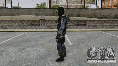 Inglés comando SAS para GTA 4 segundos de pantalla