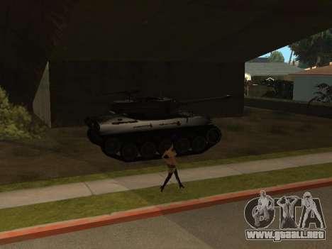 M18-Hellcat para vista lateral GTA San Andreas