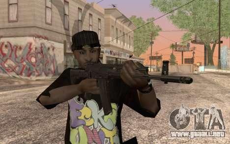 AK12 para GTA San Andreas segunda pantalla