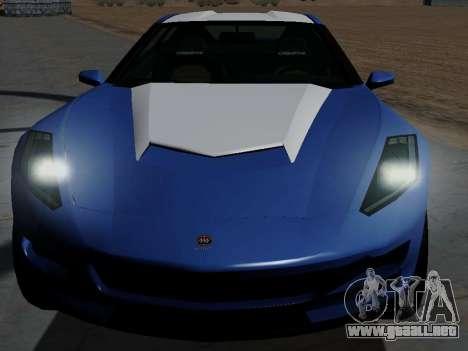 Coqueta de GTA 5 para la visión correcta GTA San Andreas