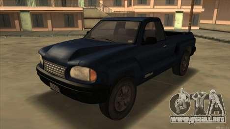 Bobcat HD from GTA 3 para GTA San Andreas