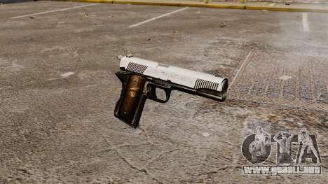 Pistola M1911 caballero para GTA 4