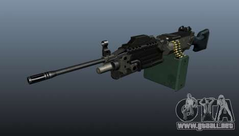 Ametralladora actualizada de ligera M249 para GTA 4