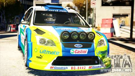 Ford Focus RS M Gronholm Rally Finland WRC para GTA 4