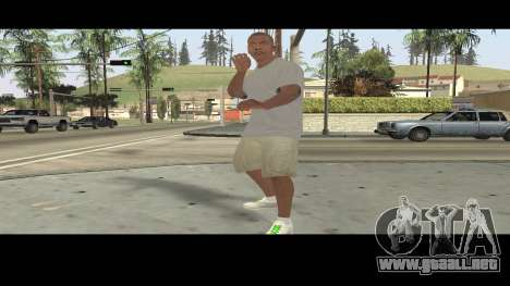 Trevor, Michael, Franklin para GTA San Andreas octavo de pantalla
