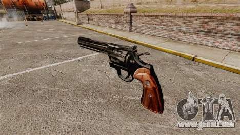 Revolver Colt Python para GTA 4 segundos de pantalla