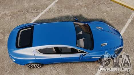 Aston Martin Rapide 2010 para GTA 4 visión correcta