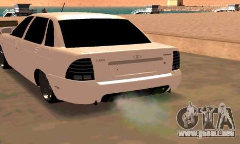 Lada Priora Sport para GTA San Andreas left