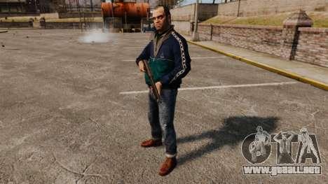 Trevor Phillips para GTA 4 adelante de pantalla