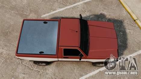 Declasse Rancher 1998 v2.0 para GTA 4 visión correcta