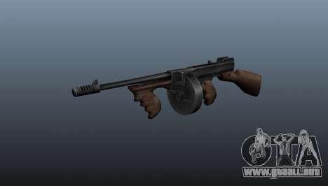 Subfusil Thompson M1928 para GTA 4
