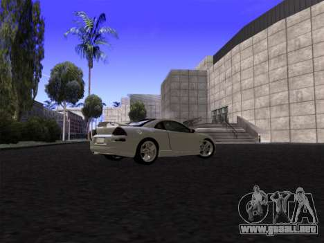 SA_RaptorX v2.0 para PC débil para GTA San Andreas quinta pantalla