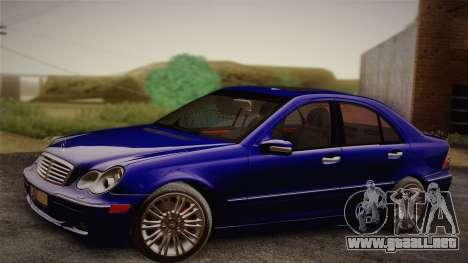 Mercedes-Benz C320 Elegance 2004 para la visión correcta GTA San Andreas