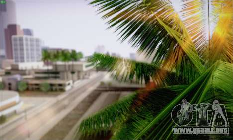 Reflective ENBSeries v1.0 para GTA San Andreas segunda pantalla