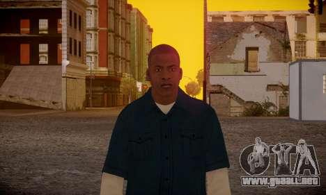 Franklin para GTA San Andreas sexta pantalla