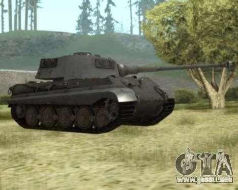 PzKpfw VIB Tiger II para GTA San Andreas left