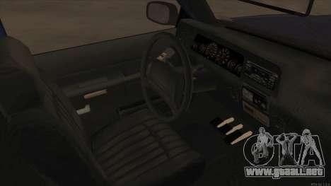 Bobcat HD from GTA 3 para visión interna GTA San Andreas