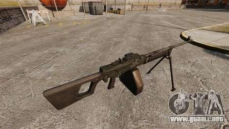 Ametralladora de propósito General QJY-88 para GTA 4 segundos de pantalla