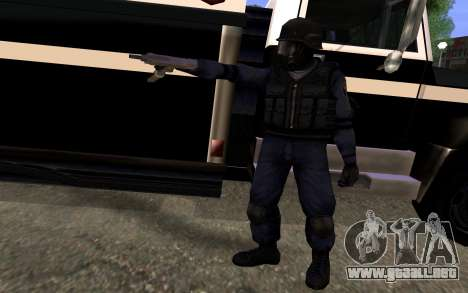 SWAT de Manhunt 2 para GTA San Andreas