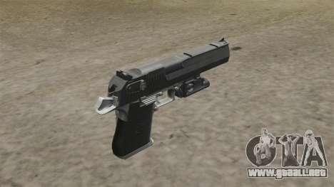 Desert Eagle pistola MW2 para GTA 4 segundos de pantalla