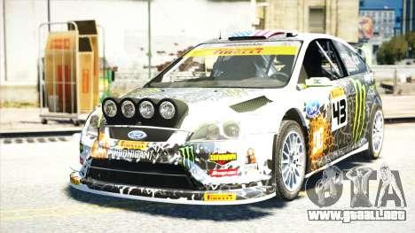 Ford Focus RS Monster World Rally Team WRC para GTA 4