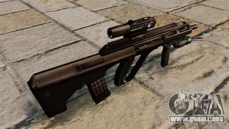 Rifle STEYR AUG A3 para GTA 4 segundos de pantalla