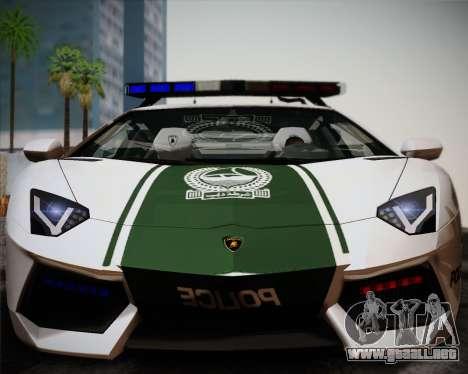 Lamborghini Aventador LP700-4 2012 RCPD V1.0 para GTA San Andreas left