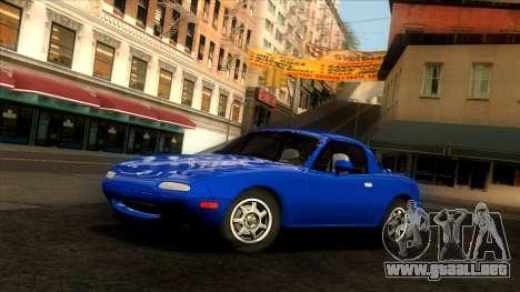 Mazda MX-5 Miata (NA) 1989 para GTA San Andreas