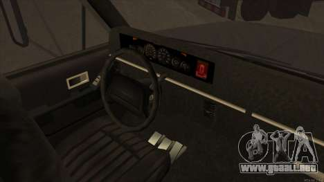 Yankee HD from GTA 3 para GTA San Andreas vista hacia atrás