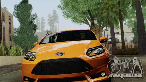 Ford Focus ST 2013 para GTA San Andreas left