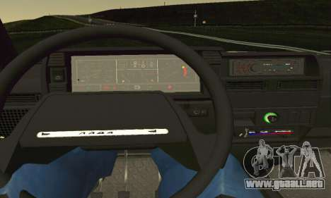 VAZ 2108 Aarr estilo para vista lateral GTA San Andreas