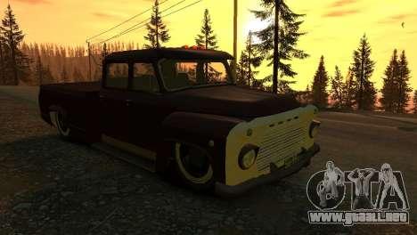 GAZ 53 para GTA 4 vista interior