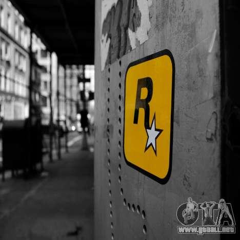 Pantallas de carga Rockstar para GTA 4 adelante de pantalla