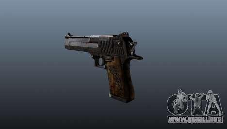 Pistola Desert Eagle para GTA 4 segundos de pantalla