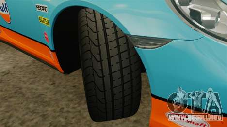 Porsche 911 Turbo 2014 [EPM] Gulf para GTA 4 vista lateral