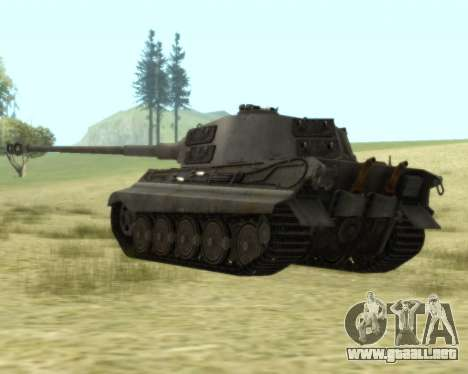 PzKpfw VIB Tiger II para la visión correcta GTA San Andreas