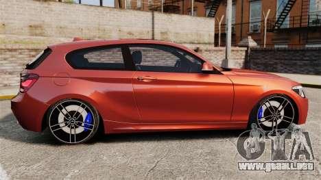 BMW M135i 2013 para GTA 4 left