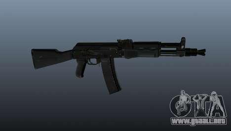 AK-102 para GTA 4 tercera pantalla