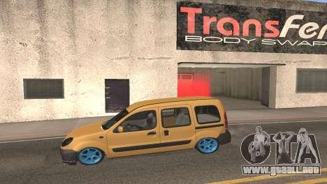 Renault Kangoo 2005 v1.0 TMC para GTA San Andreas left