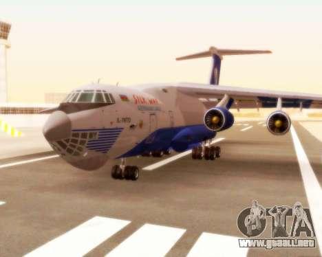 Il-76td Silk Way para GTA San Andreas